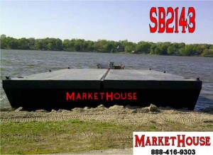 SB2143 - 48' x 24' Sectional Spud Barge