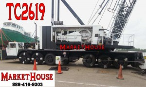 1972 P&H 6250-TC 250 Ton Truck Crane