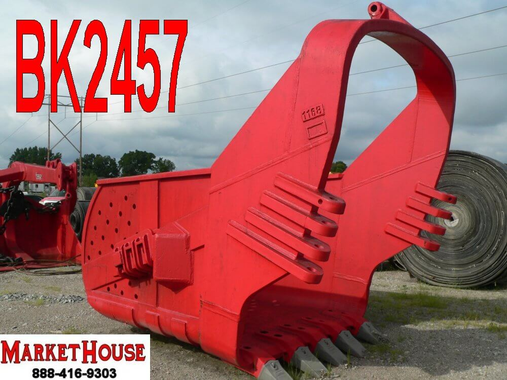 BK2457 – 7 YARD HIGH BALE HENDRIX DRAGLINE BUCKET