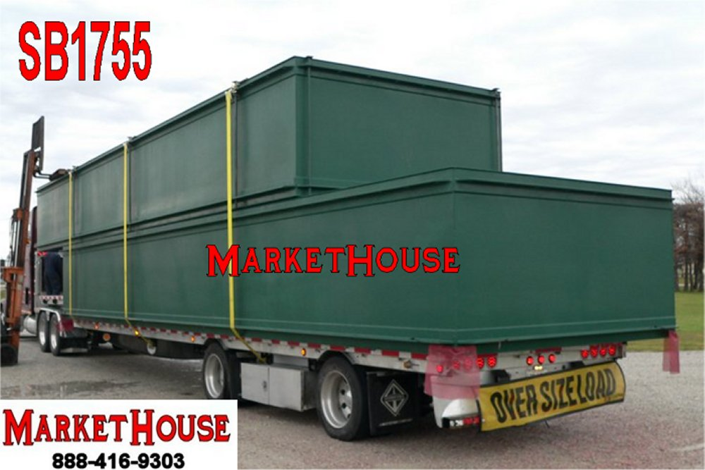 SB1755 - 40' x 10' x 5' SECTIONAL BARGES