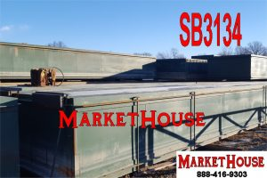 SB3134 - USED 40' x 10' x 5' SECTIONAL BARGES